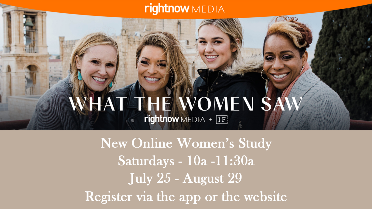 What The Women Saw Women's Study